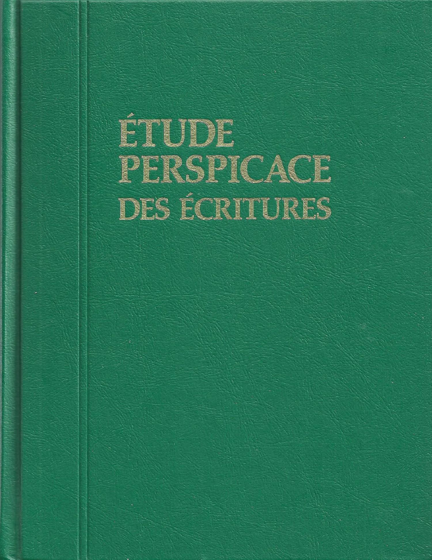 étude perspicace des écritures