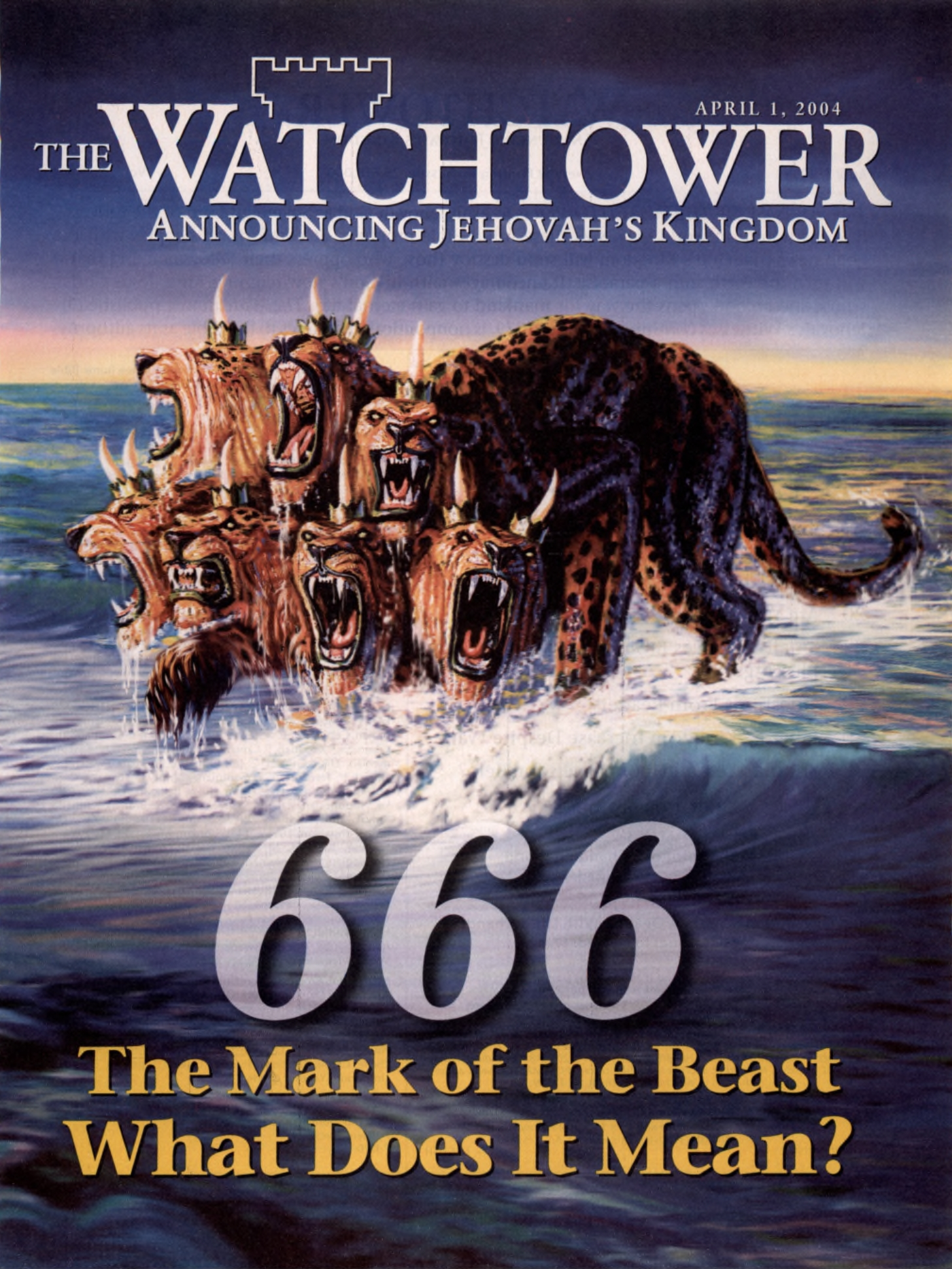 What does the number 666 mean? (Revelation 13:18) - Jehovah's witnesses