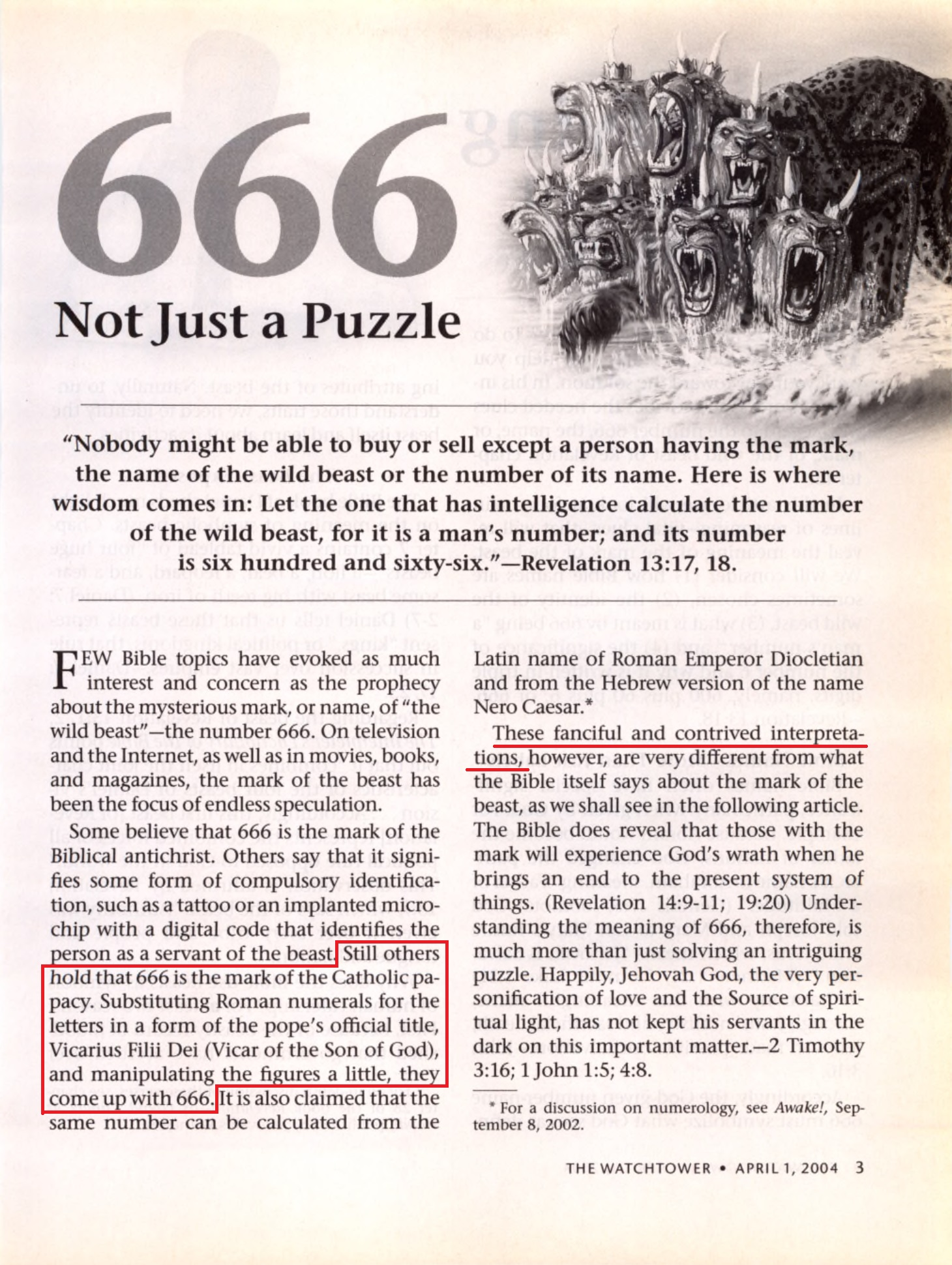 What Does The Number 666 Mean Revelation 13 18